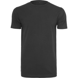 Vêtements Homme T-shirts manches courtes Build Your Brand BY004 Noir
