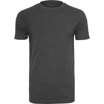 Vêtements Homme T-shirts manches courtes Build Your Brand BY004 Anthracite