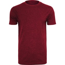 Vêtements Homme T-shirts manches courtes Build Your Brand BY004 Bordeaux