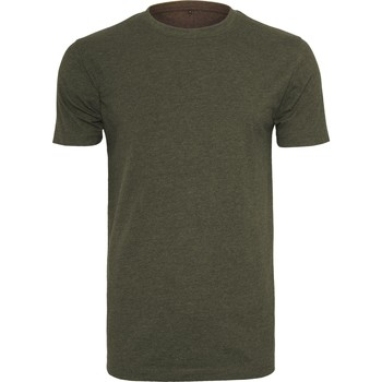 Vêtements Homme T-shirts manches courtes Build Your Brand BY004 Olive