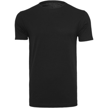 Vêtements Homme T-shirts manches courtes Build Your Brand BY005 Noir