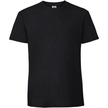 Vêtements Homme T-shirts manches courtes Fruit Of The Loom 61422 Noir