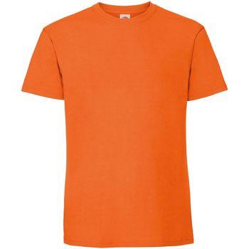 Vêtements Homme T-shirts manches courtes Fruit Of The Loom 61422 Orange