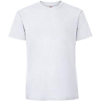 Vêtements Homme T-shirts manches courtes Fruit Of The Loom 61422 Blanc