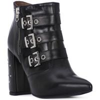 Chaussures Femme Bottes ville Nero Giardini NERO GIARDINI  NAPPA PANDORA Nero