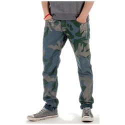 Vêtements Homme Jeans Meltin'pot Jeans Meltin' Pot Reversible Emory bleu