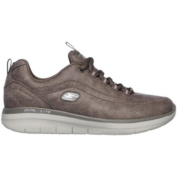 Chaussures Femme Baskets basses Skechers SYNERGY-2 GRIS Deportivas