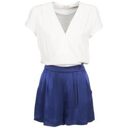 Vêtements Femme Combinaisons / Salopettes Naf Naf KLOVIS Blanc / Bleu