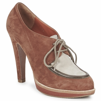 Chaussures Femme Low boots Michel Perry SADDLE SADDLE-MADRAS