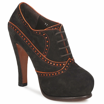 Chaussures Femme Low boots Michel Perry ORCHID WILD-ORCHID-ORANGE-ZUCCA