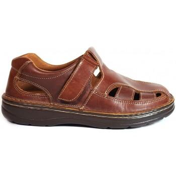 Chaussures Homme Sandales et Nu-pieds La Valenciana SANDALIAS  822 CUERO Marron