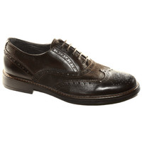 Chaussures Homme Derbies & Richelieu Made In Italia SCARPA ELEGANTE TRIBE 10700 MORO Marron