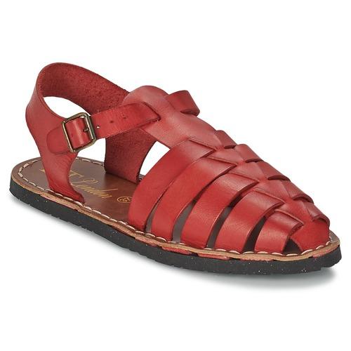 Chaussures Femme Sandales et Nu-pieds Betty London EKINO Rouge