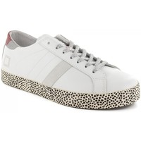 Chaussures Femme Baskets basses Date Baskets-D.A.T.E Blanc