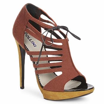Chaussures Femme Sandales et Nu-pieds Pollini PA1602 FELTRO-RUGGINE