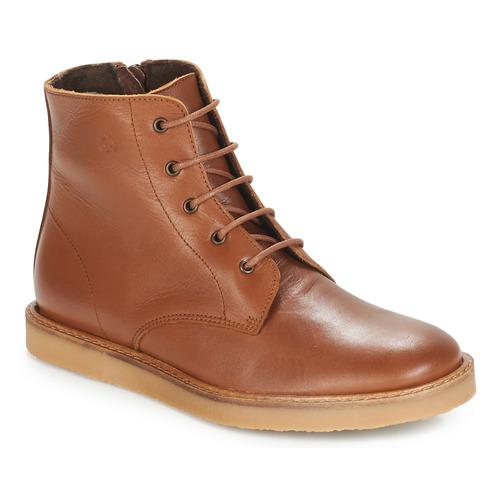 Chaussures Enfant Boots Citrouille et Compagnie HATINE Marron
