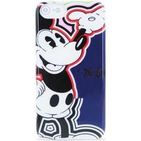 Sacs Housses portable Iceberg Couverture Happy Mickey Mouse Pour iPhone 6 6S 7 Noir