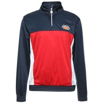 Vêtements Homme Sweats Ellesse Heritage Sweat tricolore avec boutons VETICA OH TOP Rouge