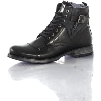 Chaussures Homme Boots Chaussures Redskins YERO NOIR GRIS Noir