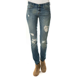 Vêtements Femme Jeans slim 7 for all Mankind Jeans Cristen  Bleu Use Bleu