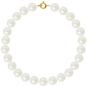 Montres & Bijoux Femme Bracelets Blue Pearls Bracelet Femme Perles de culture d'eau douce Blanches AA et Ferm Multicolore