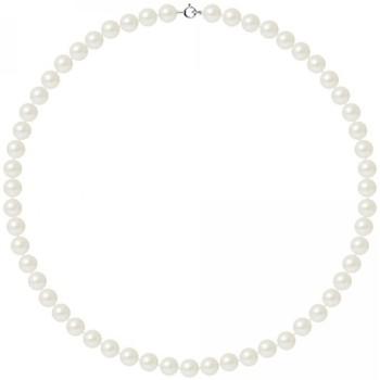 Montres & Bijoux Femme Colliers / Sautoirs Blue Pearls BPS K027 W OB Blanc
