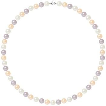 Montres & Bijoux Femme Colliers / Sautoirs Blue Pearls BPS K028 W - OB Multicolore