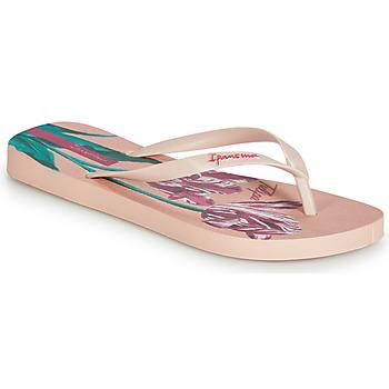 Chaussures Femme Tongs Ipanema BOTANICALS Rose