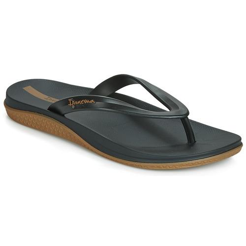Chaussures Homme Tongs Ipanema ANATOMIC LAPA AD Noir