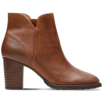 Chaussures Femme Bottines Clarks Verona Trish Marron