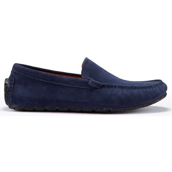 Chaussures Homme Mocassins Hugs & Co. Mocassins Pneu Daim Bleu marine