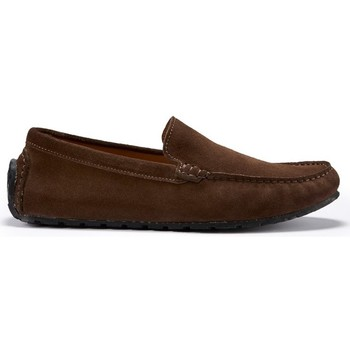 Chaussures Homme Mocassins Hugs & Co. Mocassins Pneu Daim Marron