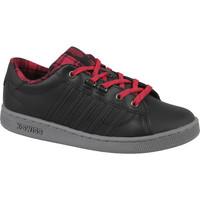 Chaussures Enfant Baskets basses K-Swiss Hoke Plaid Noir