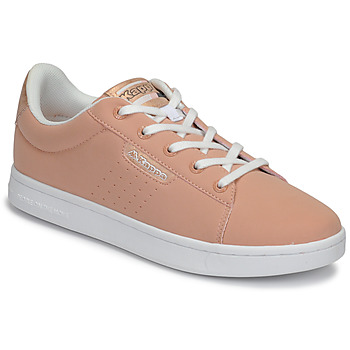 Chaussures Fille Baskets basses Kappa TCHOURI LACE Rose / Blanc