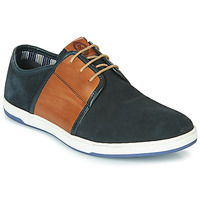 Chaussures Homme Baskets basses Base London JIVE Bleu / Camel