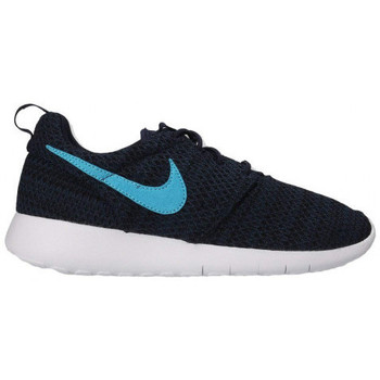 Chaussures Garçon Baskets basses Nike Baskets Junior  Roshe Run GS - 599728-424 Bleu