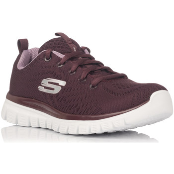 Chaussures Baskets basses Skechers 12615 rouge