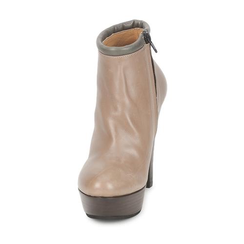 Low Boots Keyté Pouloi Femme Taupe w80OPkn