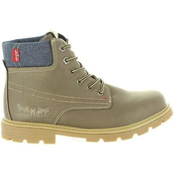 Chaussures Enfant Boots Levi's VFOR0010S FORREST Marr?n