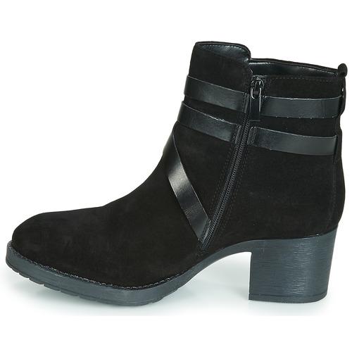 Femme Midwest Boots André Noir André Midwest DH2EI9