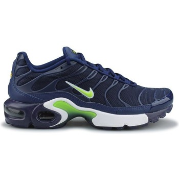 Chaussures Garçon Baskets basses Nike Air Max Plus Tn Junior Bleu Bleu