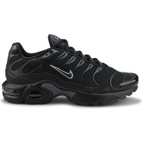 Chaussures Garçon Baskets basses Nike Air Max Plus Tn Junior Noir Noir