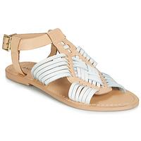 Chaussures Femme Sandales et Nu-pieds André NIRVANA Blanc