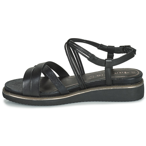 Femme Noir pieds Tamaris Eda Et Nu Sandales CdBeWrxo