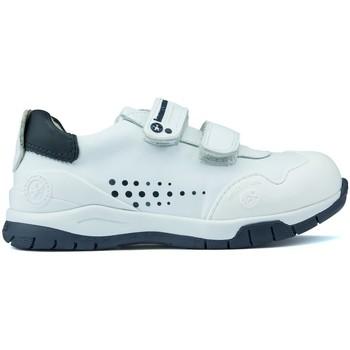 Chaussures Enfant Baskets basses Biomecanics ANDY chaussures BLEU_BLANC