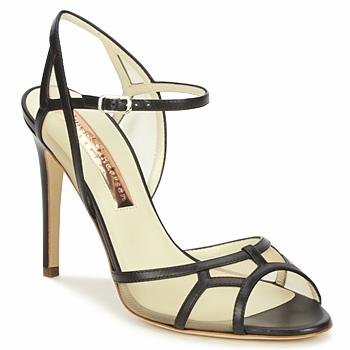 Chaussures Femme Sandales et Nu-pieds Rupert Sanderson TREEN Noir / Beige
