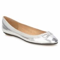 Chaussures Femme Ballerines / babies Buffalo BABY BILL Argent