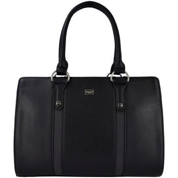 Sacs Femme Cabas / Sacs shopping David Jones Grand Sac à Main Cabas Fourre-Tout Fourre Noir