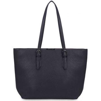 Sacs Femme Cabas / Sacs shopping David Jones Grand Sac à Main Shopping Fourre-Tout A4 Noir
