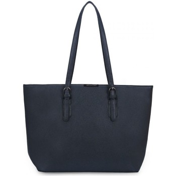 Sacs Femme Cabas / Sacs shopping David Jones Grand Sac à Main Shopping Fourre-Tout A4 bleu